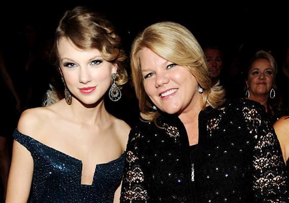 Andrea Gardner 31 éves volt, mikor megszületett a lánya, Taylor Swift.