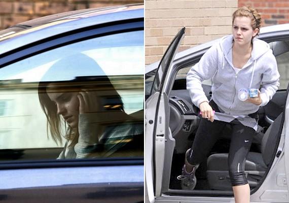Emma Watson a Harry Potter-filmek Hermionéjaként nem szeretett seprűn utazni - a való életben az autó sem a kedvence.