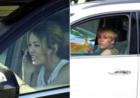 Miley Cyrus már régóta vezet, és az autóit is cserélgeti.