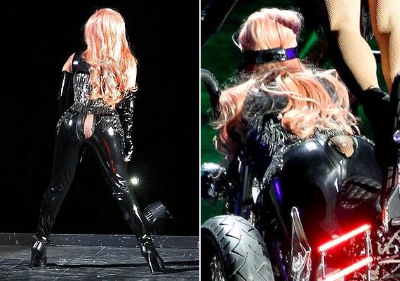 Lady Gaga éppen a Heavy Metal Lover című számot adta elő koncertjén, amikor a fenekén szétrepedt a nadrág. Ahogyan az énekesnőtől elvárható, nem különösebben illetődött meg a kellemetlen szituációtól.