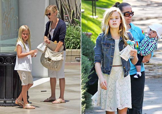 A kicsi Ava Philippe egyre inkább hasonlít Reese Witherspoonra.