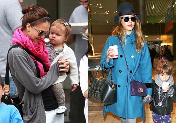 Jessica Alba kislánya, Honor már néhány hónaposan is tisztában volt vele, mi fán terem a divat. Ez a mai napig nem változott.
