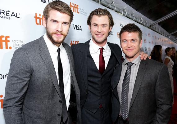 A genetika furcsa játéka, hogy egy családon belül három ilyen remekbe szabott emberpéldányt is sikerült összehozni. A Hemsworth fivérek harmadik tagja, Luke is ugyanolyan átható kék szempár tulajdonosa, mint Chris és Liam.