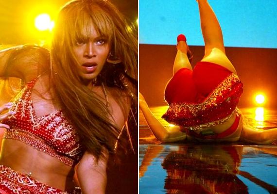 Beyoncé a színpadon már többször is orra bukott, de a 2007-es esése volt az egyik leglátványosabb.