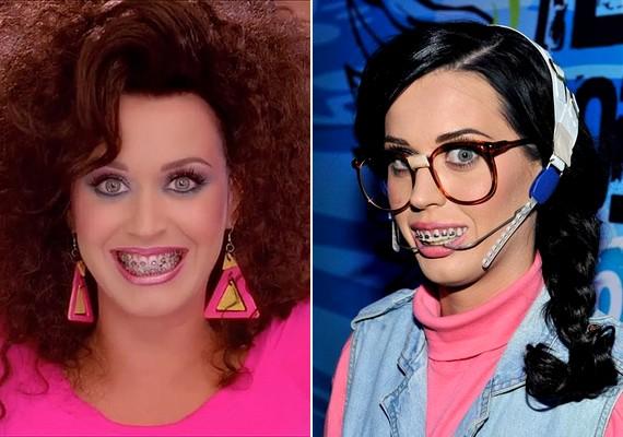 Katy Perrynek csak egy videoklip kedvéért tettek fel fogszabályzót.