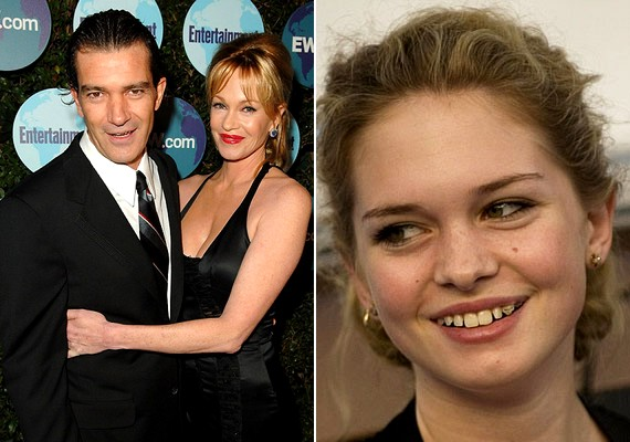 Német, spanyol és angol vér is csörgedezik a 16 éves Stella del Carmen ereiben, aki Antonio Banderas és Melanie Griffith lánya.