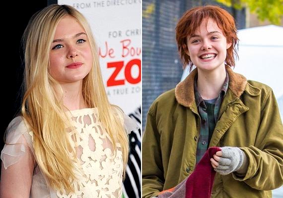 Elle Fanning új filmje, a Three Generations kedvéért szabadult meg hosszú szőke tincseitől, és váltott rövid, vörös frizurára.