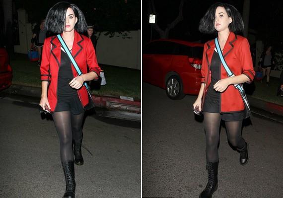 Katy Perry idén egy rajzfilmfigura, Jane Lane bőrébe bújt.