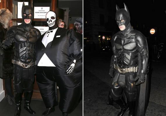 Batmannek öltözött Liam Payne. A One Direction tagja a búvár Tom Daley-vel bulizott.