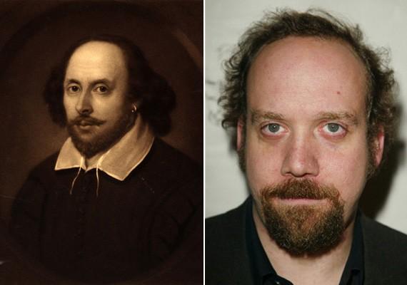 A színész Paul Giamatti akár Shakespeare leszármazottja is lehetne a hasonlóság alapján.