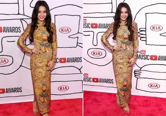 Különleges ruhát viselt a YouTube Music Awardson Vanessa Hudgens.