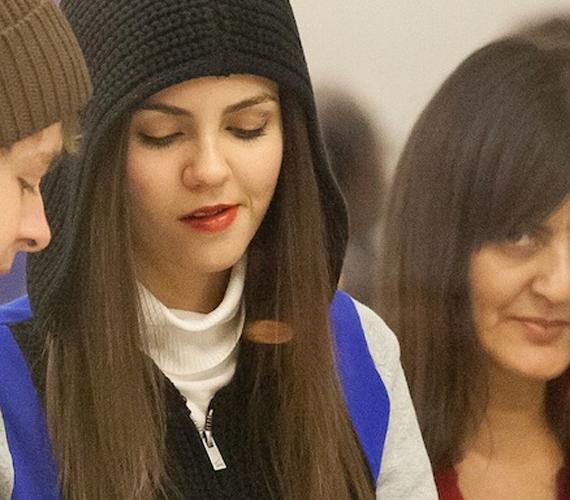 Victoria Justice édesanyja is beletévedt abba a képbe, ami eredetileg csak a lányát ábrázolta volna.