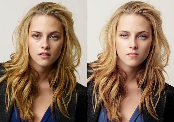 Kristen Stewartnak korántsem olyan tökéletes az arcbőre, ahogyan azt egy vámpírtól elvárnánk.