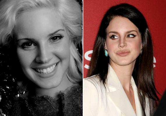 Lizzy Grant a nevét Lana Del Reyre, az orrát kisebbre, az ajkát pedig teltebbre cserélte.