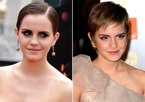 Emma Watson is divatot teremtett a kurta tincsekkel.