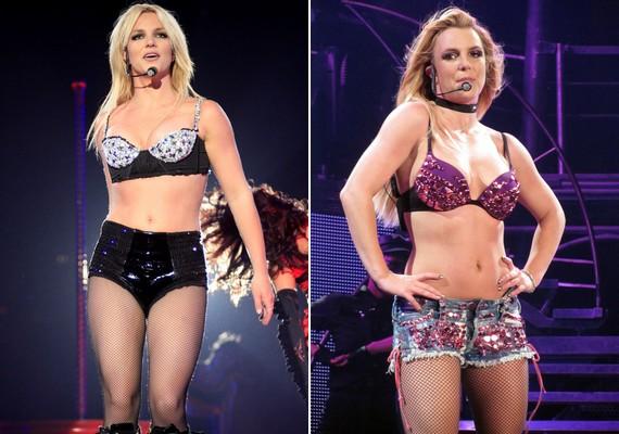 Britney Spears a húszas évei végén jött rá, hogy szeret melltartóban koncertezni. A most 31 éves énekesnő tinisztárként valamivel visszafogottabb volt.