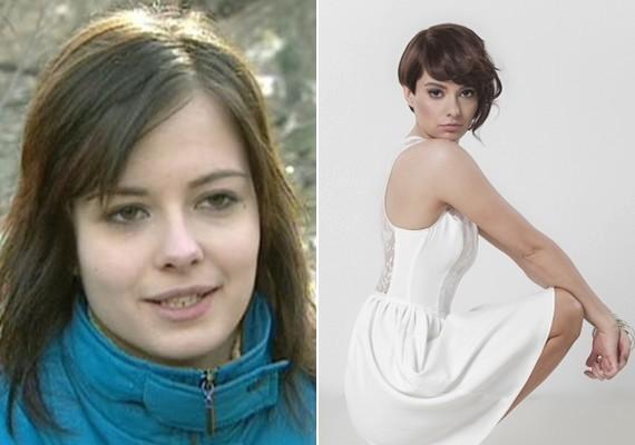 A magyar énekesnőnek, Lolának a festetlen arc sem előnytelen.