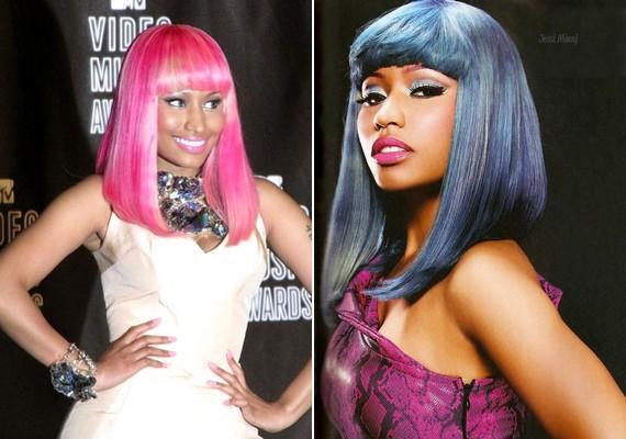 Nicki Minajt szinte már el sem tudja képzelni az ember átlagos hajszínnel.
