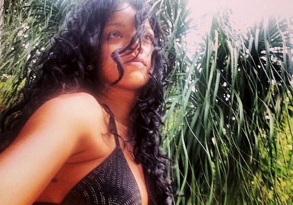 Rihanna is előszeretettel osztogat meg magáról bikinis képeket.