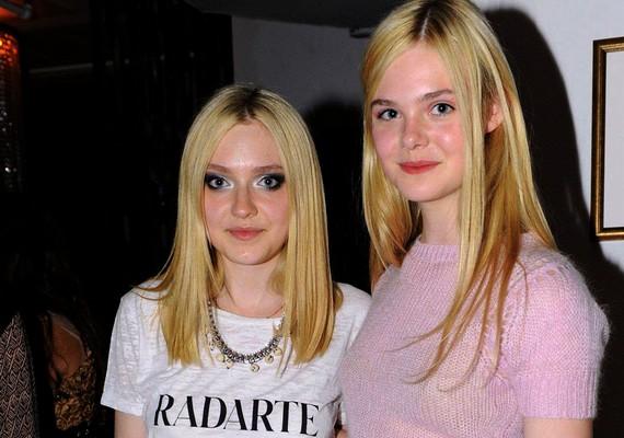 Dakota és Elle Fanning mindketten gyerekszínészként kezdték. A magasabb Elle igazi természetes szépség,de Dakota sikeresebb lett.