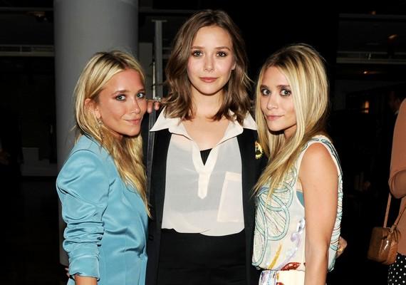 Az Olsen ikrek a megszólalásig hasonlítanak egymásra, de húguk, Elizabeth különbözik tőlük.