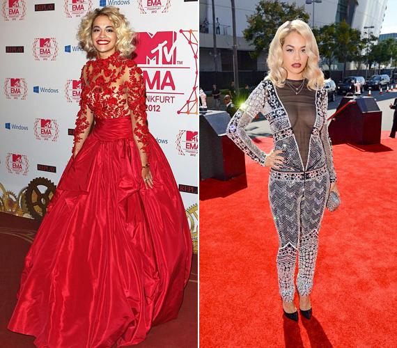 Rita Ora stílusa is hagy némi kívánnivalót maga után, a kevesebb ezekben az esetekben is több lenne.