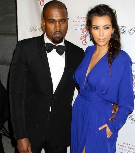 Kim Kardashian és Kanye WestA rapper és a valóságshow-sztár 2012 tavasza óta randizgatnak, és dúl köztük a szerelem. Bár esküvő még nem volt Kim húzódó válása miatt, 2013 júniusában megszületett első közös gyermekük,North West.