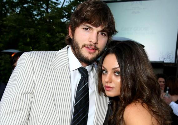 Ashton Kutcher és Mila Kunis nagyjából egy éve vannak együtt. Éles váltás volt ez a férfi életében, hiszen Mila előtt Demi Moore-ral élt együtt, aki 20 évvel idősebb, mint Kunis.
