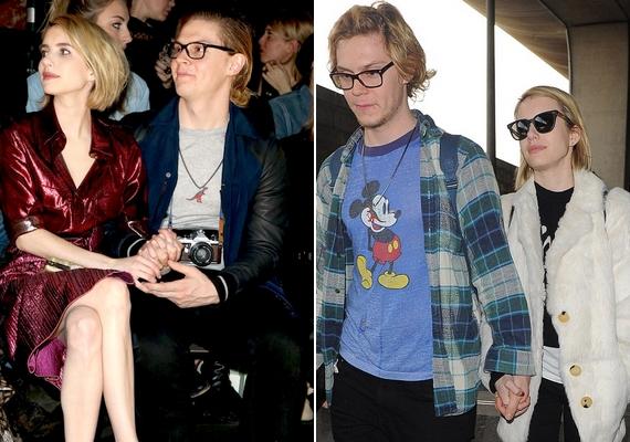 Emma Roberts és Evan Peters kapcsolata nem volt mindig felhőtlen, de úgy tűnik, túljutottak a nehézségeken: nemrégiben bejelentették az eljegyzésüket.