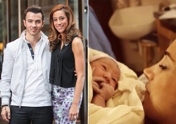 Kevin Jonas és felesége, Danielle fiatalon, a húszas éveik elején házasodtak össze, és február 2-án, két év próbálkozás utánmegszületett első kislányuk,Alena Rose.