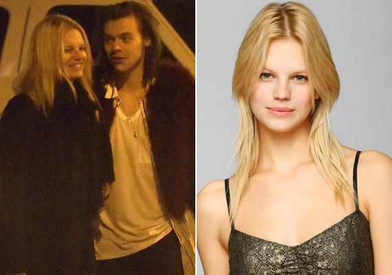 Harry Stylest is néhány napja kapták le először új barátnőjével, a Victoria's Secret-modell Nadine Leopolddal.