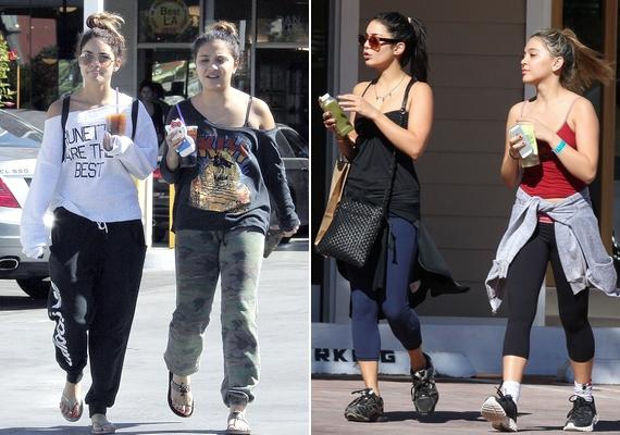 Ha Vanessa Hudgens és húga, Stella együtt lépnek utcára, szinte az utolsó apró részletig teljesen ugyanolyan stílusban vannak felöltözve.