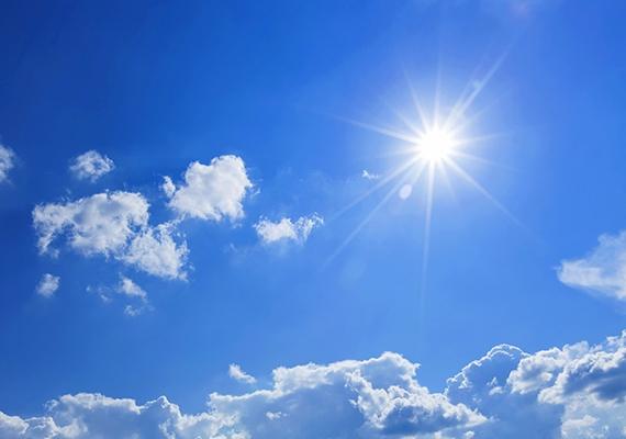 2. Mindig rásüt a nap, de soha nincs árnyéka - mi az?