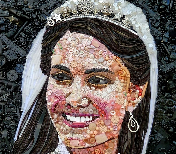Katalin hercegnő mását is elkészítette a művész.