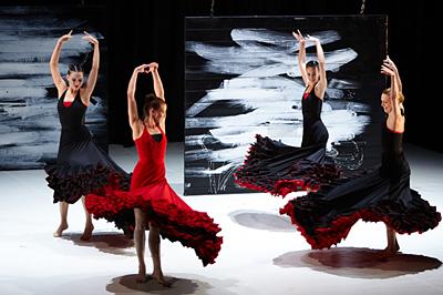 Carmen a Pécsi Balett előadásában. Fotó: Dusa Gábor