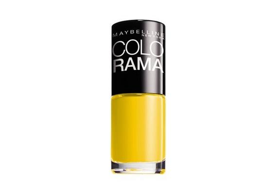Ha nem riadsz vissza a nagyon élénk, feltűnő színektől, jó választás lehet egy napsárga körömlakk, mint például a Maybelline Colorama kollekció tagja, 899 forintos áron.