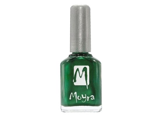 A zöld a 2014-es tavaszi körömlakkok egyik divatszíne. A képen látható Moyra lakk 370 forintért lehet a tiéd.