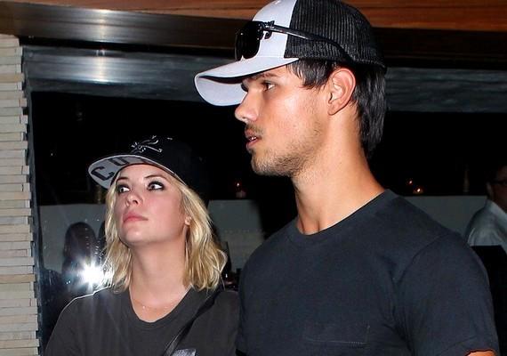 A 23 éves színésznővel, Ashley Bensonnal is járt.