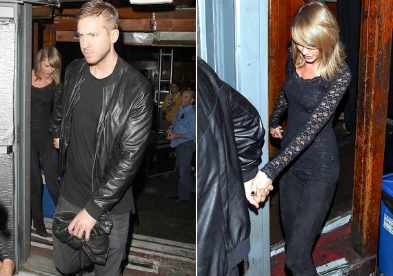 Taylort és Calvint egy koncert után fotózták le a napokban, amint kéz a kézben távoztak a helyszínről.