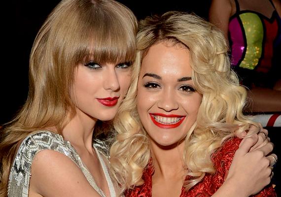 Taylor és Rita korábban jó barátnők voltak, de mostanában nem nagyon lehetett őket együtt látni.