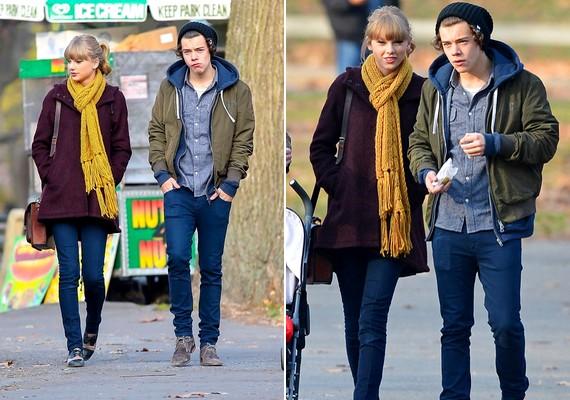 Eleinte egymástól távol sétáltak, majd egyre közeledtek a másikhoz.