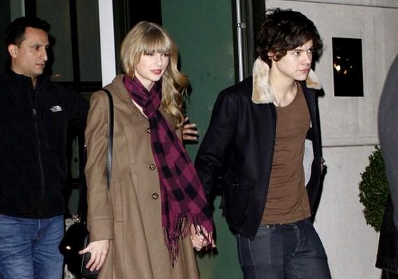 A One Direction énekesével, Harry Stylesszal még egy hónapot sem voltak együtt.
