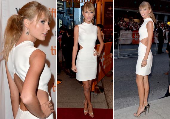 Szeptember 9-én került megrendezésre az idei Torontói Nemzetközi Filmfesztivál. Taylor Swift egy nyitott hátú, különleges szabásúCalvin Klein ruhát viselt az eseményen.