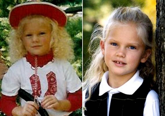 Taylor Swift kislányként igazi szőke angyalka volt.