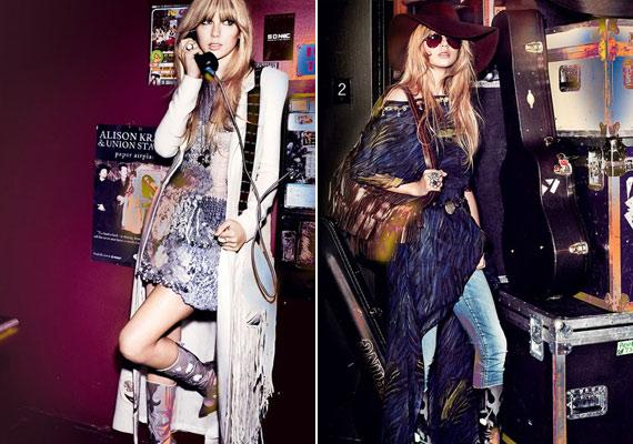 A country stílus azért a Vogue képein is megjelenik.
