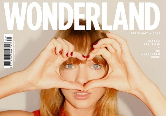 Ekkoriban is szerepelt a Wonderland címlapján az új külsővel, úgy látszik, a magazin szereti meglepni az olvasóit.
