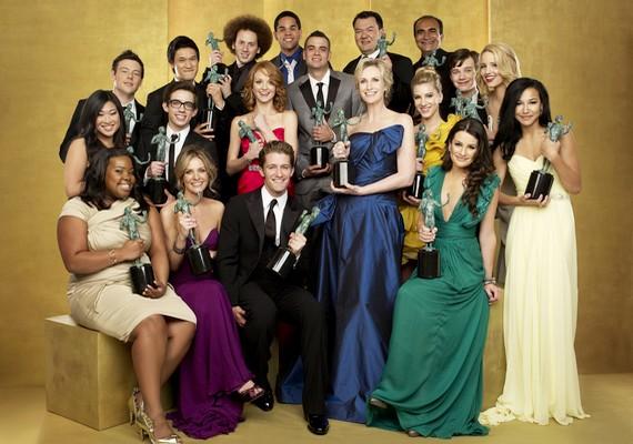 A Glee című szériát a legjobb vígjátéksorozat kategóriában jelölték.