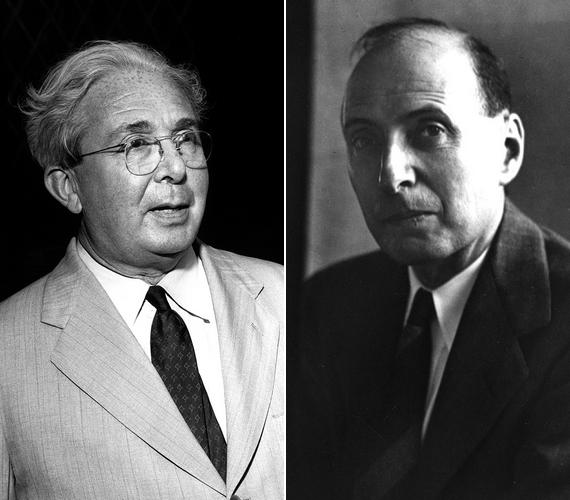 Teller Ede mellett szintén az atomfizikai kutatással szerzett nemzetközi hírnevet Szilárd Leó és Wigner Jenő is. Mindketten aktív résztvevői voltak a Manhattan-tervnek.