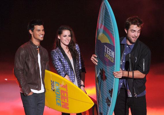Az Ultimate Choice-díjat, vagyis a legnagyobb elismerést a Twilight-saga kapta.