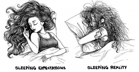 Ilyen az alvás: ahogyan várnád, és ahogy a valóságban történik.